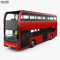 Alexander Dennis Enviro400 Double Decker Bus 2015