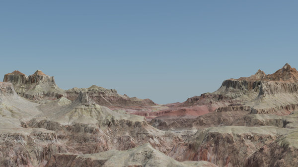 3D grand canyon national park model