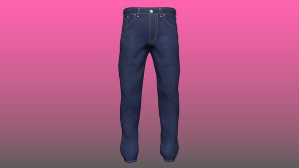 levi s jeans 3D model