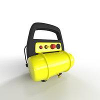compressor industrial tool 3D model