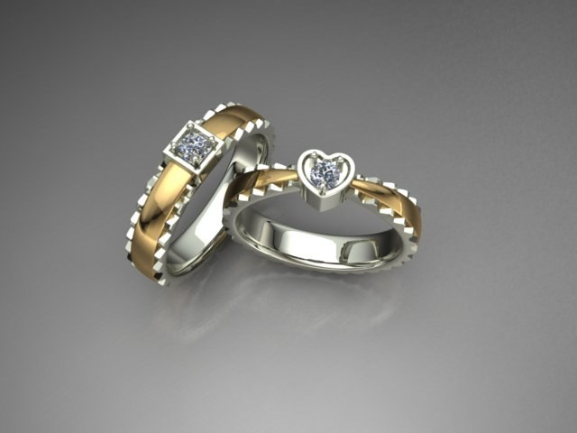 couple rings model