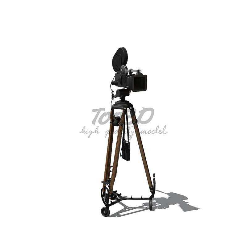 3D old camera model