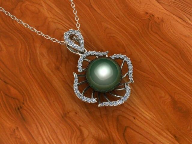 pendant pearl 3D model