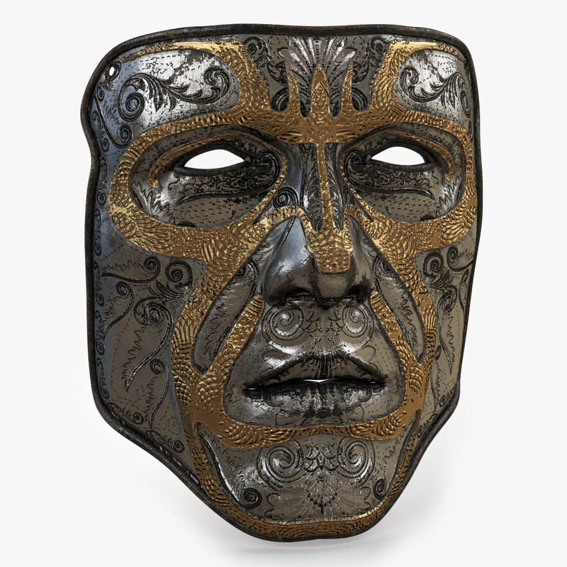 3D model mask 2