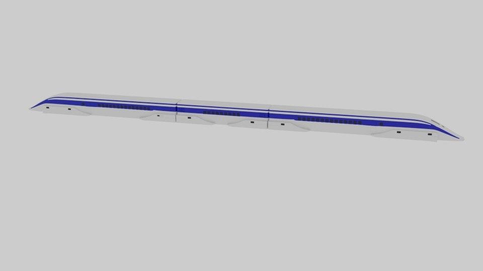 3D maglev mlx model