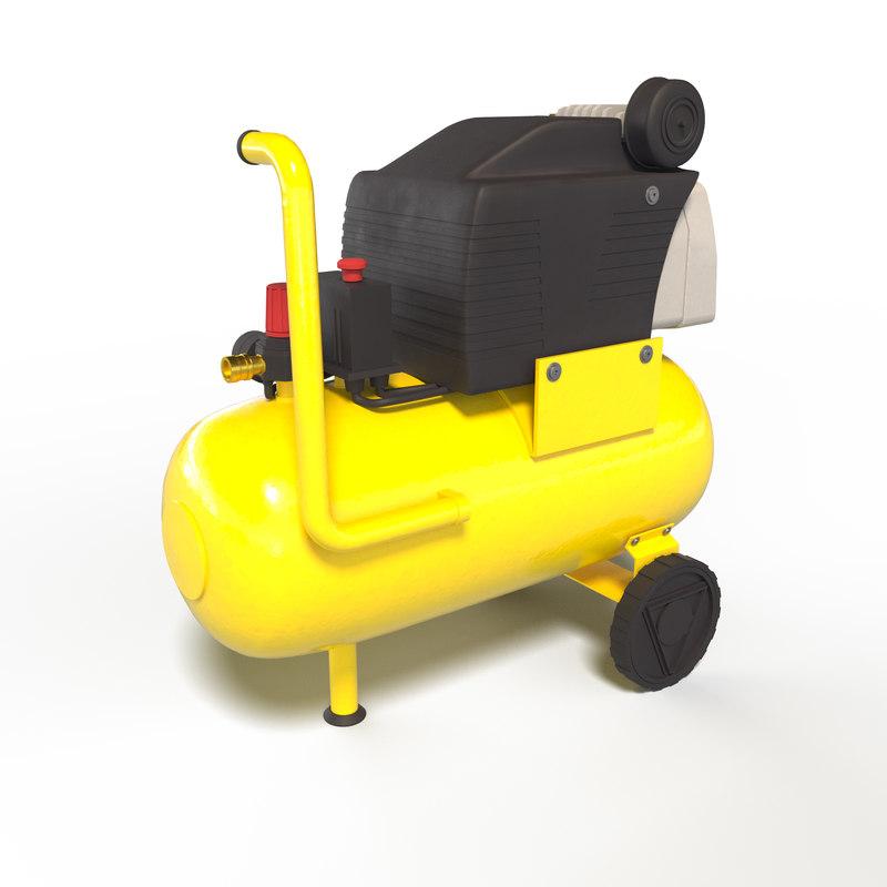 3D larg compressor model