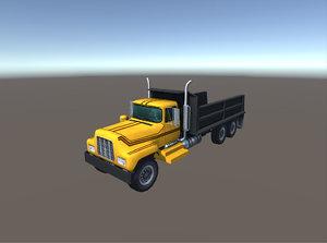 3D model industry truck