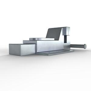 large vise 3D model