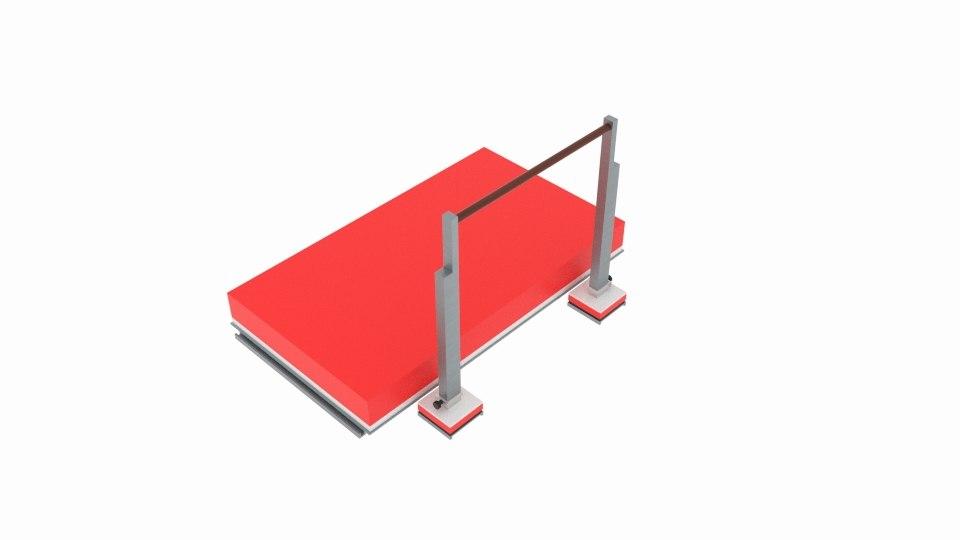 3D jump platfom