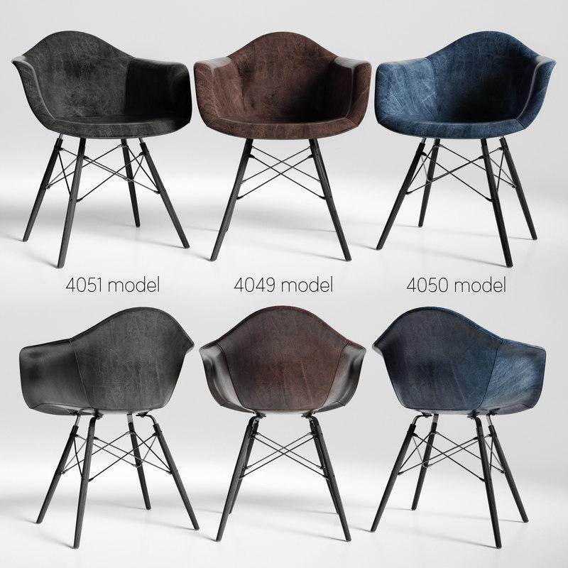 chairs eames loftdesigne 3D model