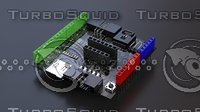 3D chip computer circuit