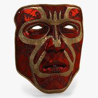 3D mask 3 model