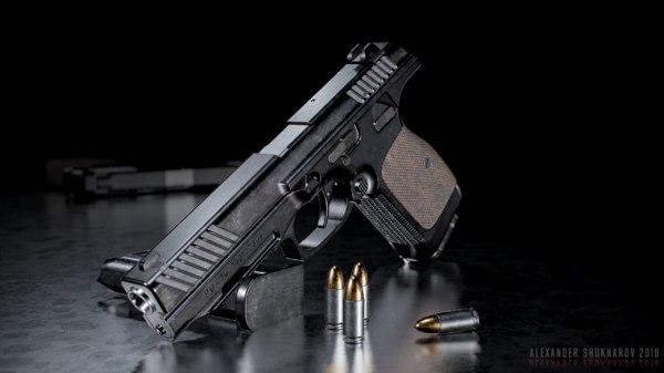 pl-14 pistol 8k 3D