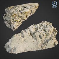3D scanned rock cliff f2