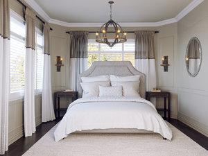 3D bedroom render