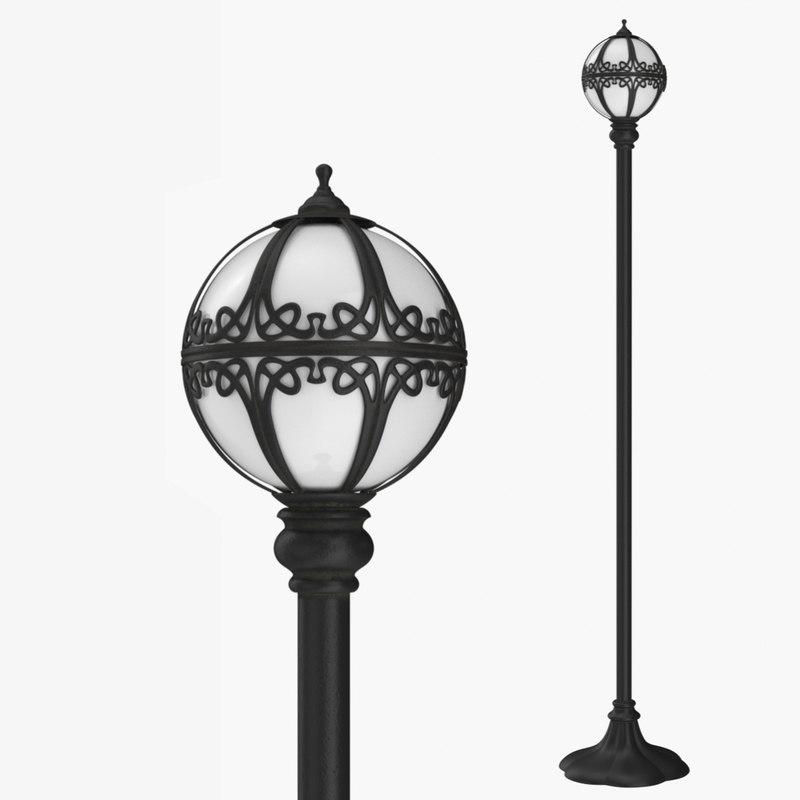 street lamp 0 3D