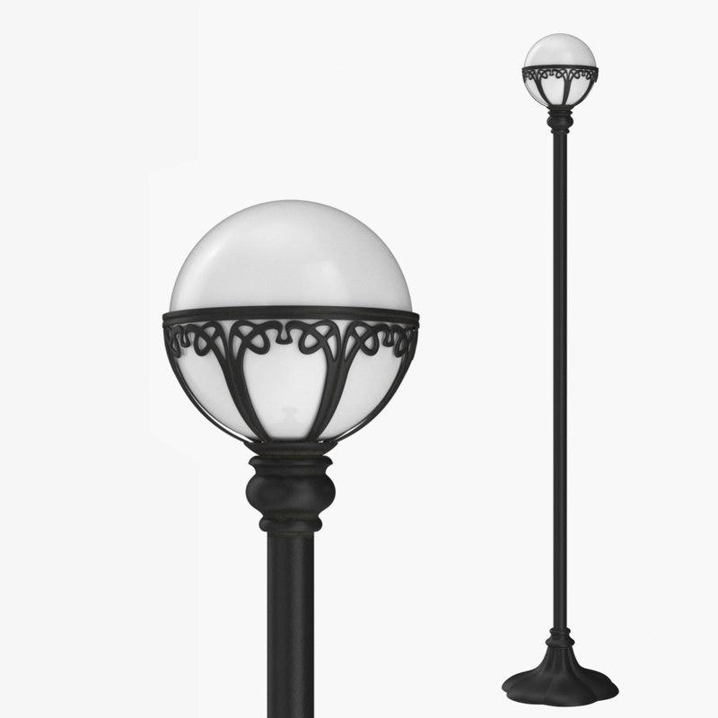 street lamp 1 3D model
