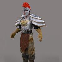 3D medieval warrior
