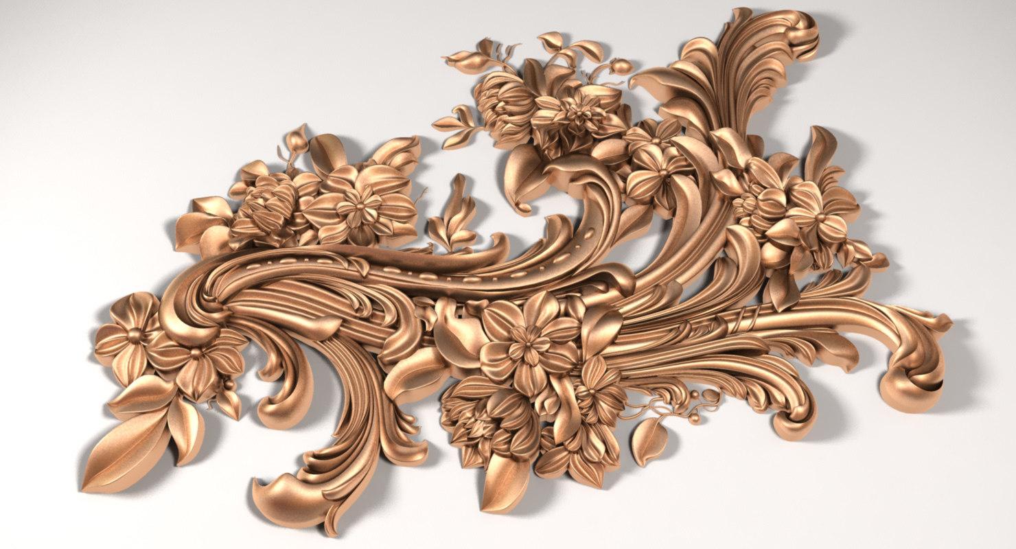 3D model decor x2