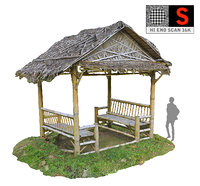gazebo jungle 16k 3D model