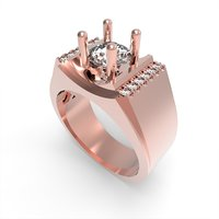 jewelry ring men 3D model