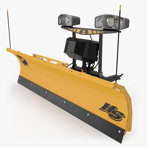 3D fisher storm guard snowplow