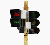 traffic light 3D