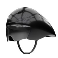 Time Trial Bicycle Carbon Helmet with goggles
