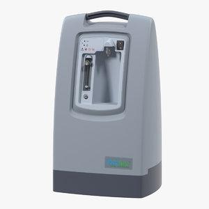 3D oxygen concentrator