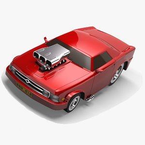 hot rod 3D model