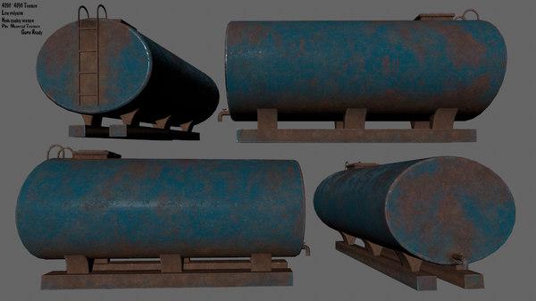 tanker 3D model