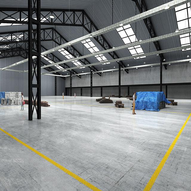 exhibition hall model
