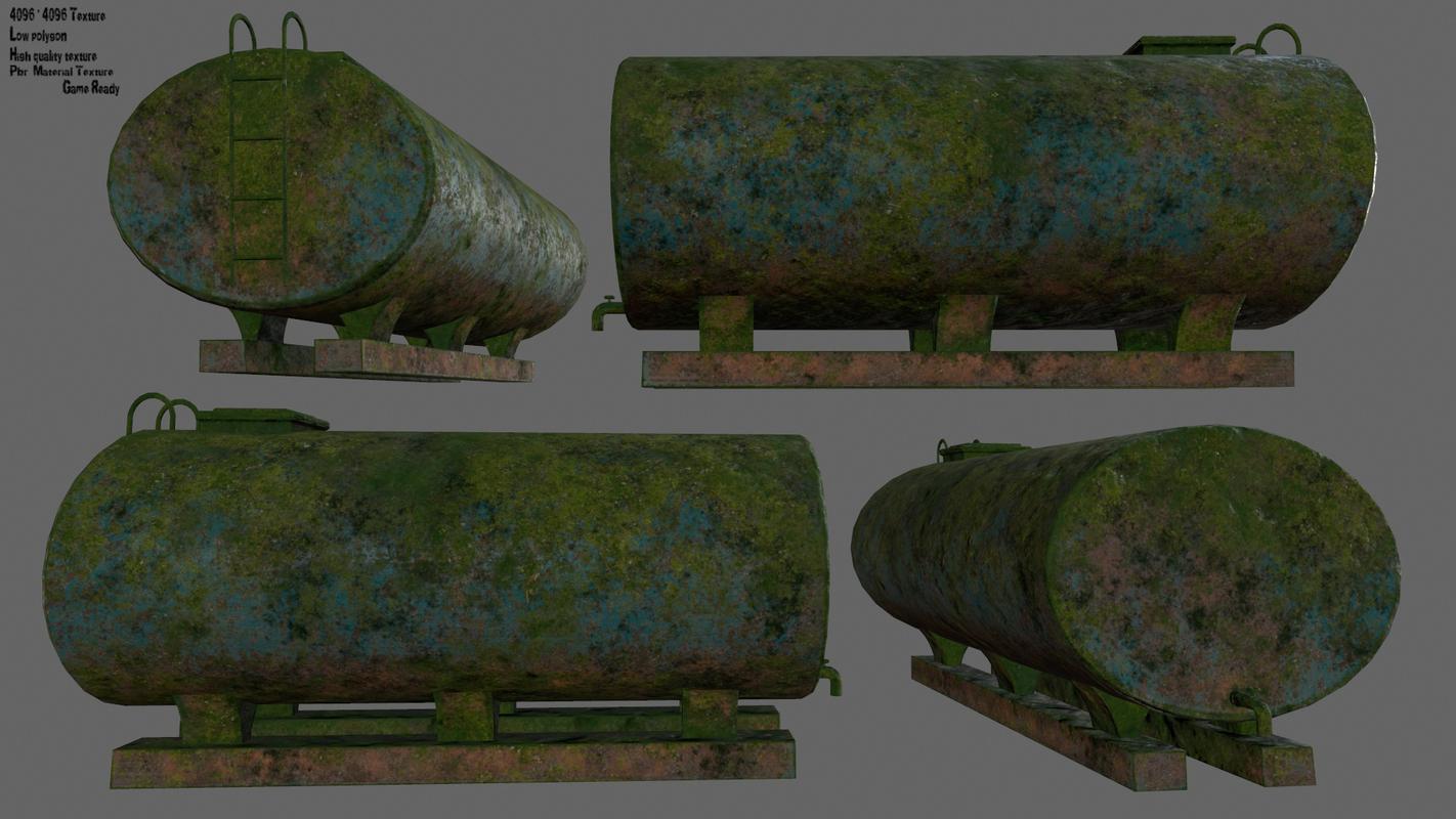 3D model tanker