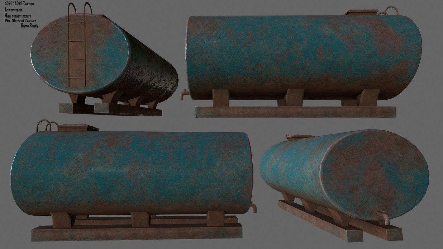 3D tanker model