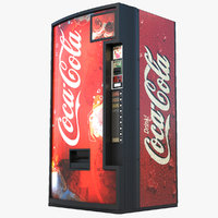 soda vending machine 3D model
