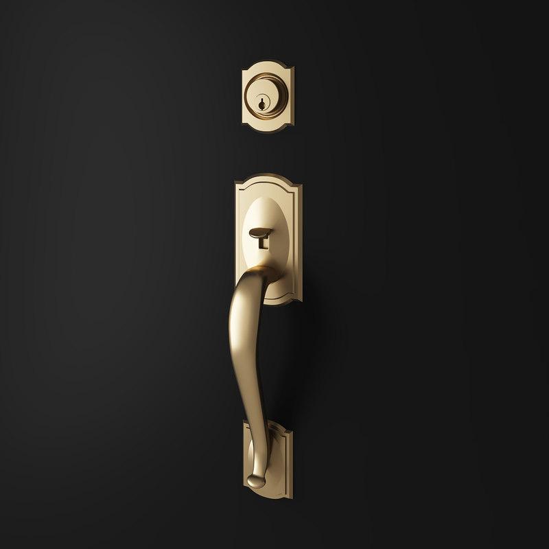 door entry handle 3D model