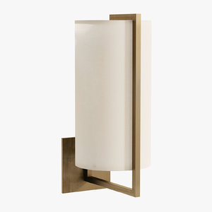 3D visual framework sconce model