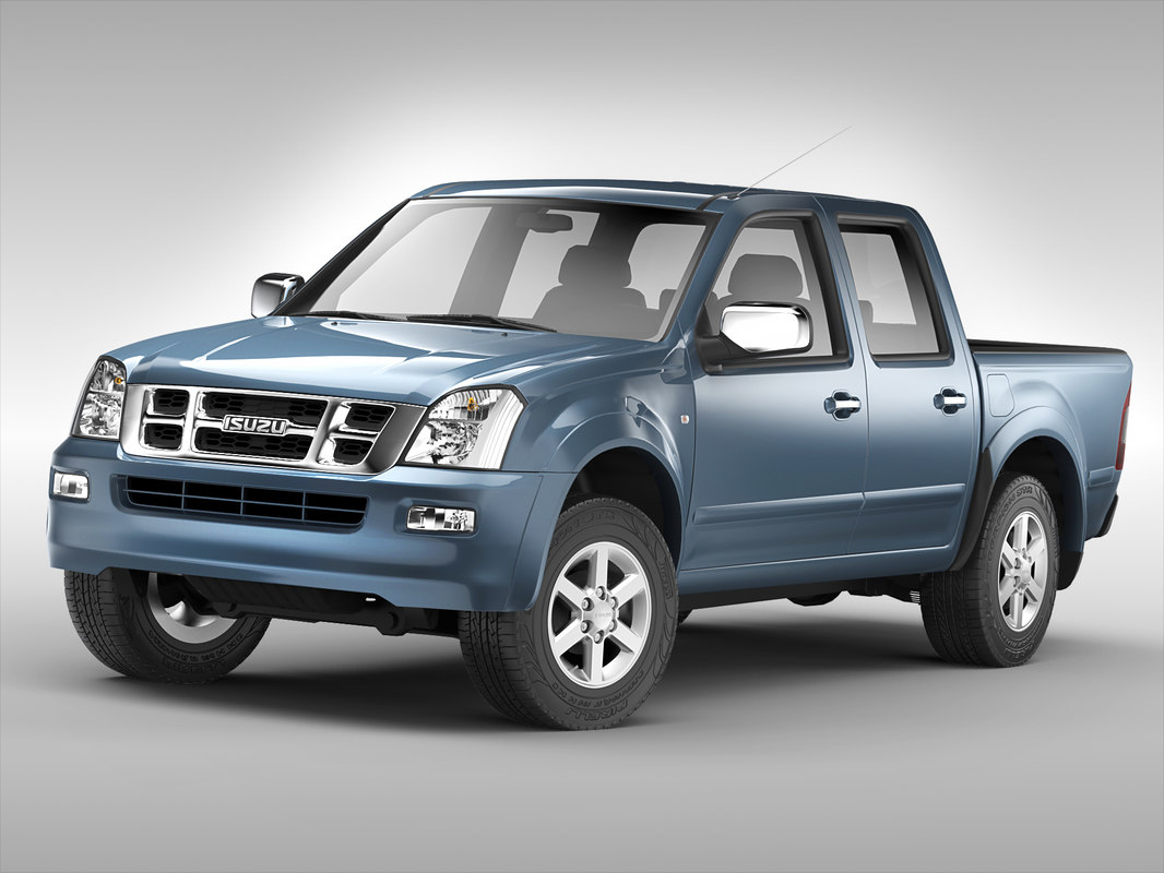 3D - isuzu car model