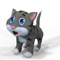 cat cartoon animations 3D