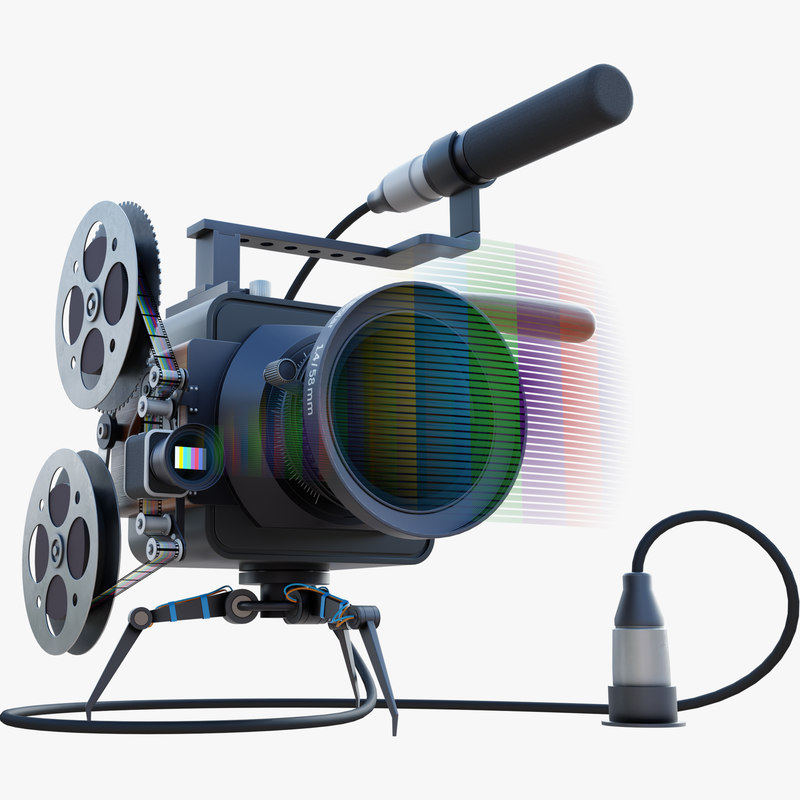 animation mad camera model