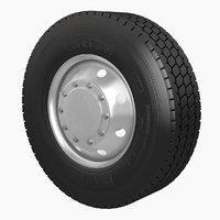 Semi Truck Wheel