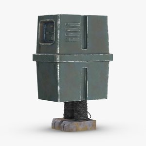 3D star wars gonk droid