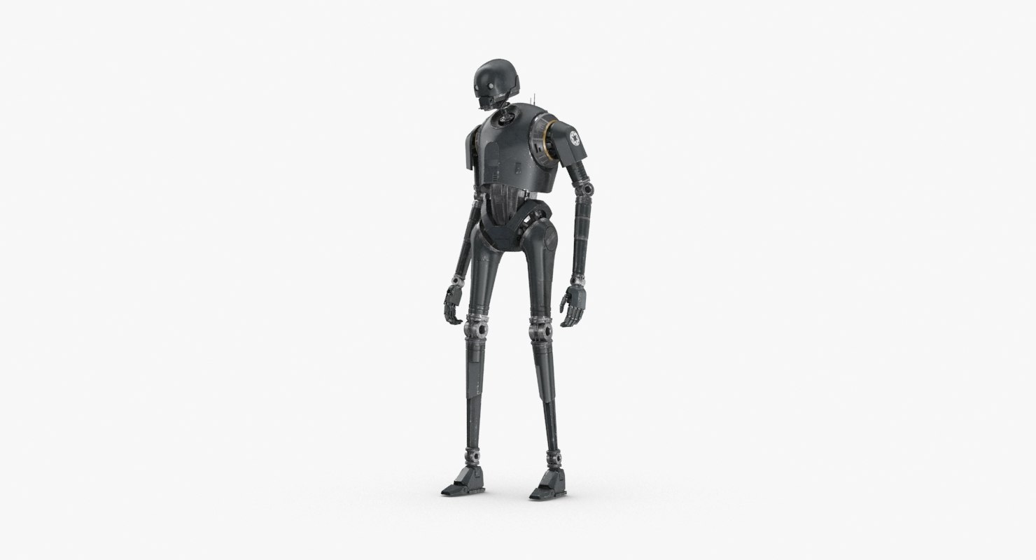 3D rigged k-2so - standing