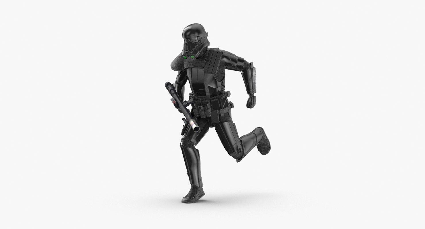 imperial death trooper - model