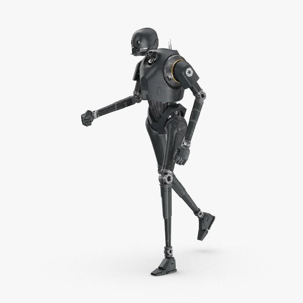 3D rigged k-2so - running