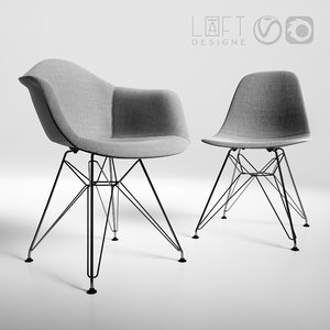 chairs loftdesigne 3D