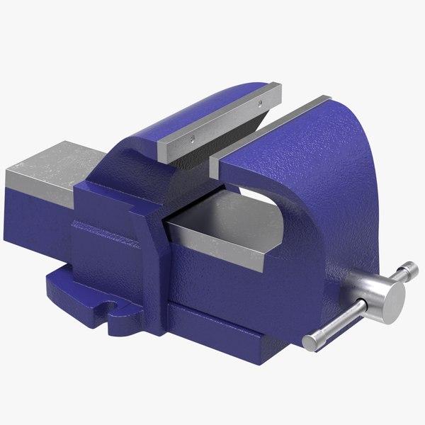 3D vice clamping tool model