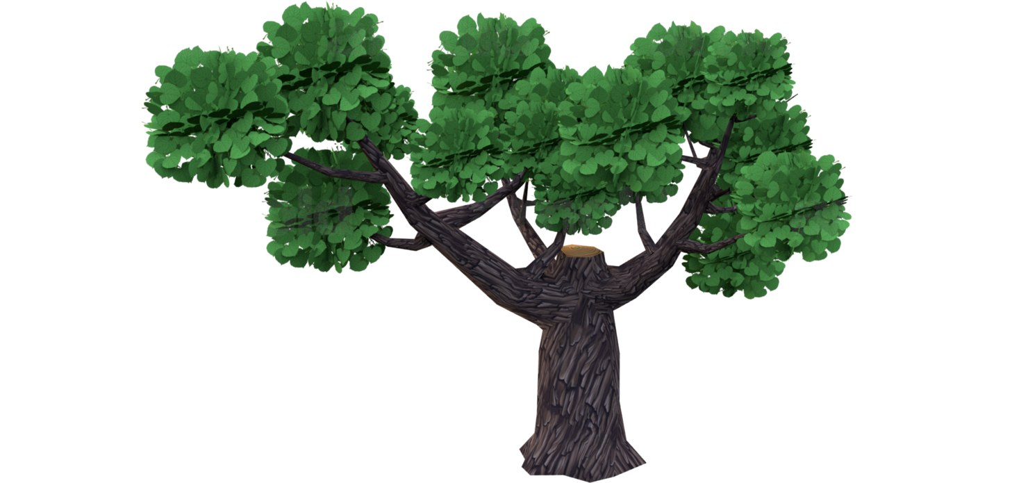 tree mobile 3D