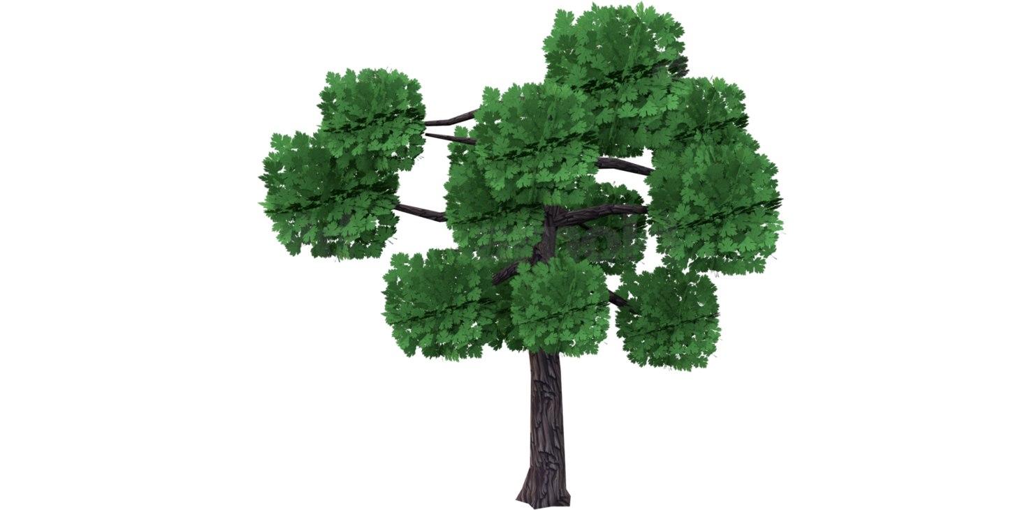 tree mobile 3D model