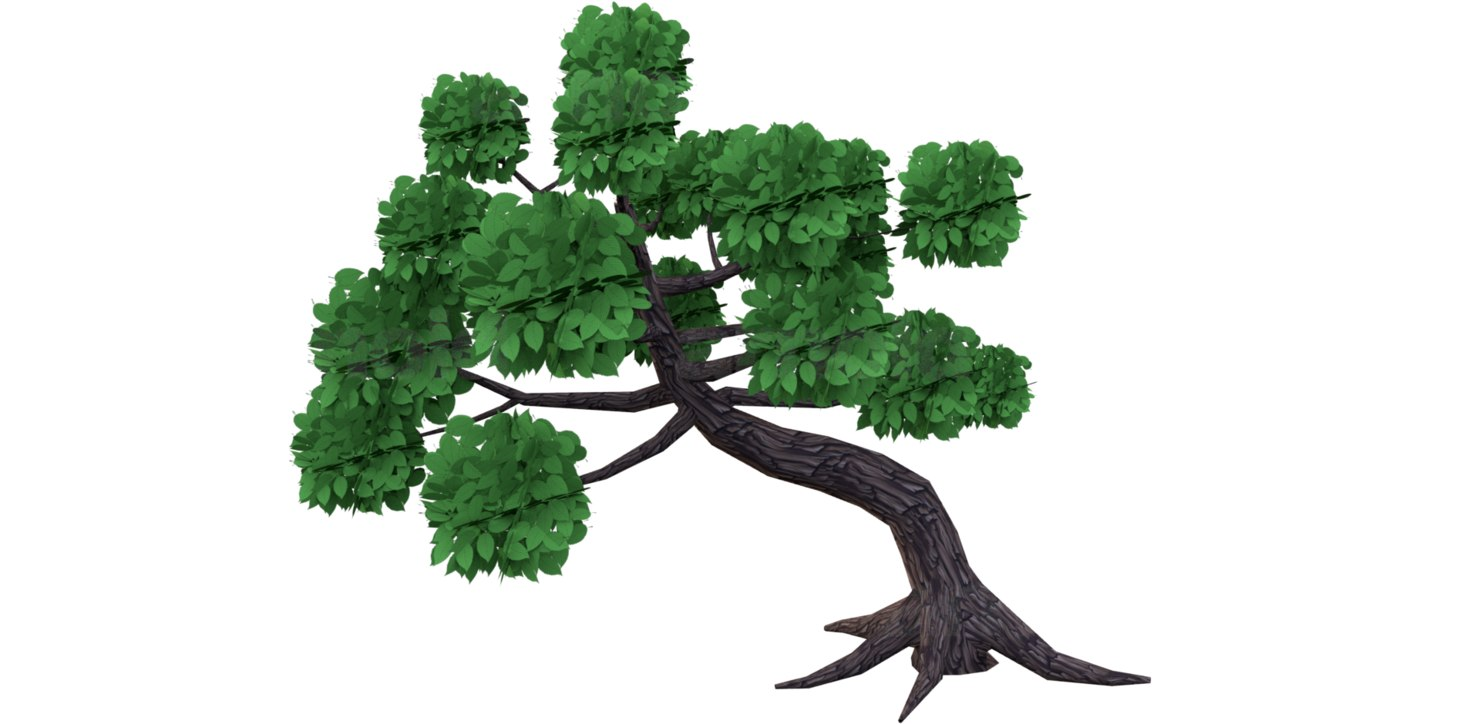 3D tree mobile